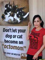 Octomom For PETA