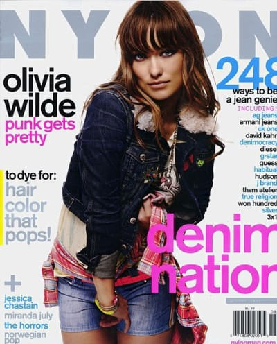 Olivia Wilde Nylon Cover