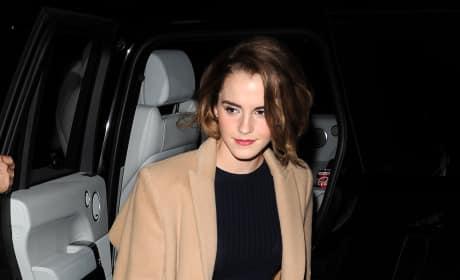 Emma Watson Out In London