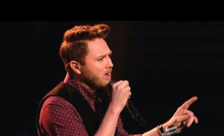Luke Wade - Thinking Out Loud (The Voice Top 12)