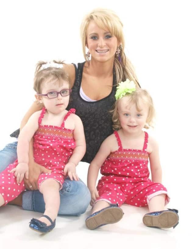 Leah Messer and Daughters