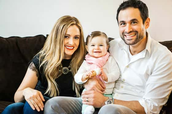 Jason, Molly and Riley Mesnick
