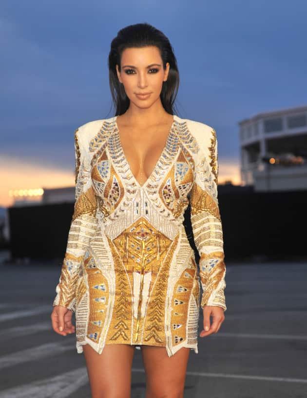 Kim Kardashian Cannes Photo