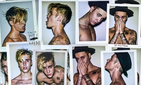 Justin Bieber Shirtless Montage
