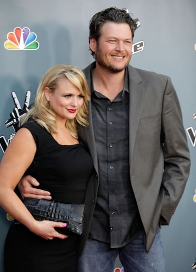 Miranda Lambert and Blake Shelton Together