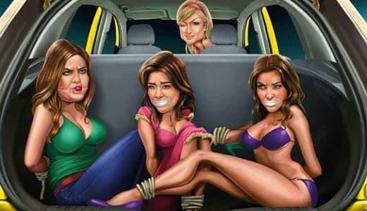 Paris Hilton Kardashians Ford Ad