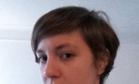 Lena Dunham Short Hair