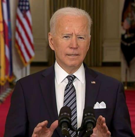Address Joe Biden Covid