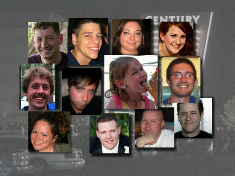 Aurora Shooting Victims