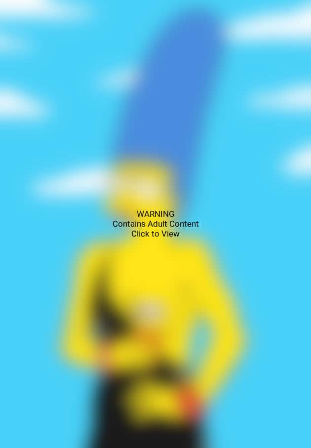 Marge Simpson Topless Photo