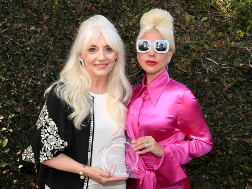 Lady Gaga and Mother Cynthia Germanotta