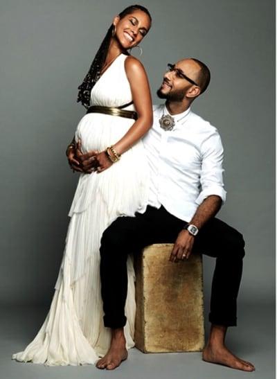 Pregnant Alicia Keys
