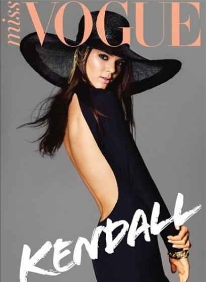 Kendall Jenner Miss Vogue Australia Cover
