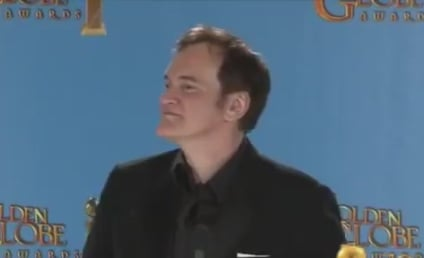 Quentin Tarantino Drops N-Word at Golden Globes Press Conference