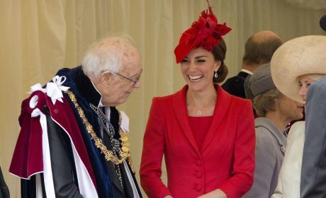 Kate Middleton: 2016 Order of the Garter Ceremony