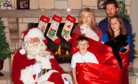 Kelly Clarkson Christmas Card