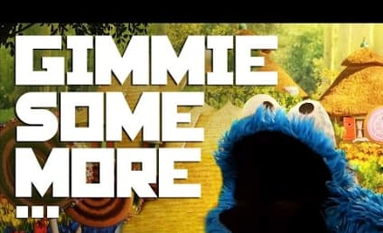 Cookie Monster Sings Busta Rhymes, Makes Your Day