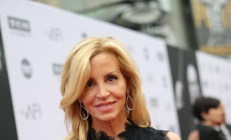 Camille Grammer on a Red Carpet