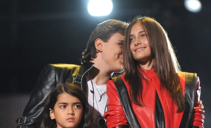 Michael Jackson's Kids Honor Dad in Wales