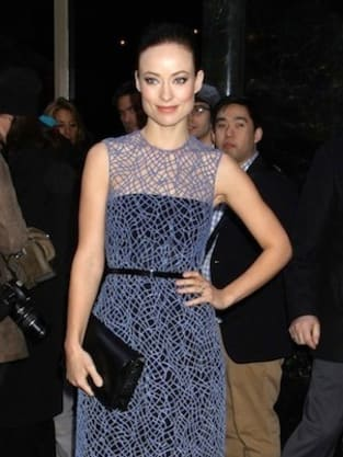 Olivia Wilde in Blue
