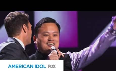 """William Hung """"Bangs"""" Out on American Idol Stage Again!"""