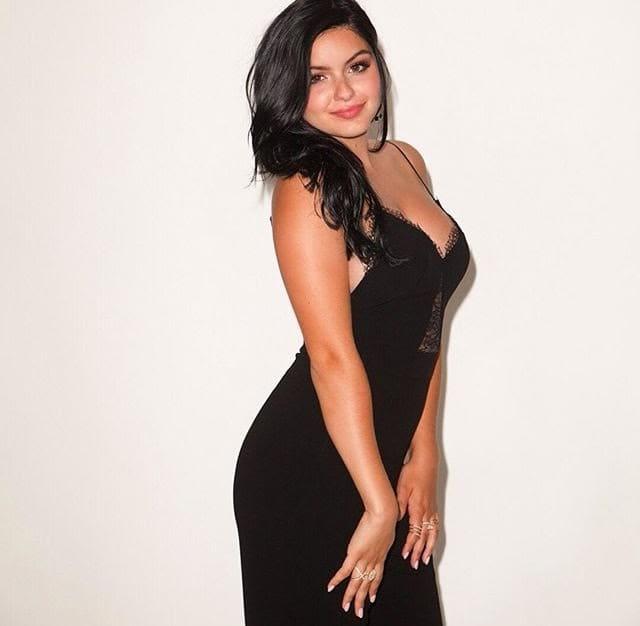 Ariel Winter in a Black Dress