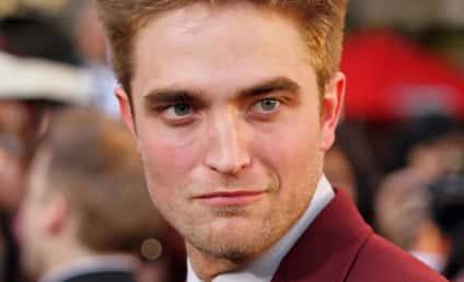 Spotted: Robert Pattinson on Set of Cosmopolis