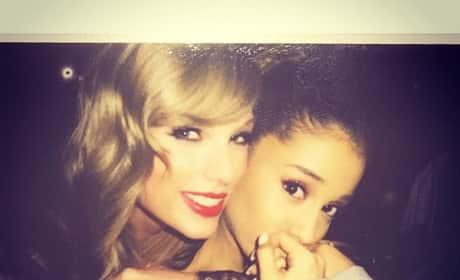 Taylor Swift and Ariana Grande