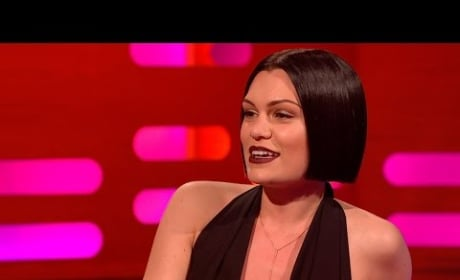 Jessie J Sings Bang Bang With Mouth Closed