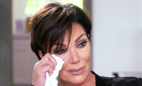 Kris Jenner Cries