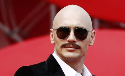 James Franco Debuts Weird, Fake Head Tattoo at Venice Film Festival