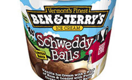 Ben & Jerry's Presents: Schweddy Balls Ice Cream!