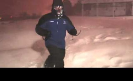 Jim Cantore Witnesses Thundersnow, FLIPS THE EFF OUT