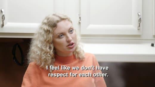 Natalie Mordovtseva - I feel like we don't have respect for each other