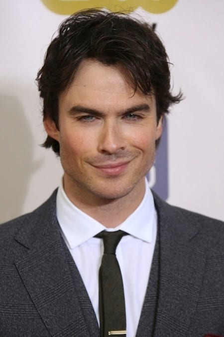 The Ian Somerhalder Smirk