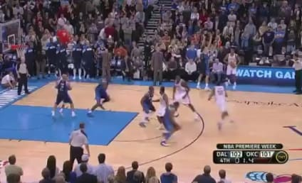 Kevin Durant Buzzer-Beater Beats Mavericks (VIDEO)