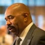 Steve Harvey in Trump Tower