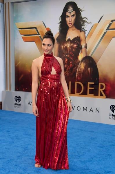 Gal Gadot at the Wonder Woman Premiere
