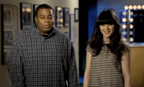 Zooey Deschanel SNL Promo