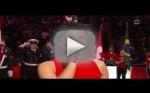 Nelly Furtado Butchers Canadian National Anthem