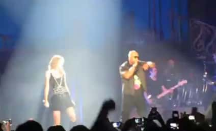 Taylor Swift and Flo Rida Team Up in Florida