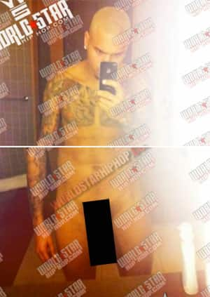 from Ameer chris browns dick naked