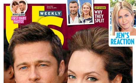 Brangelina Tabloid Cover