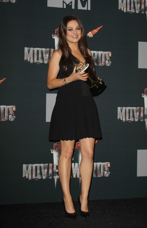 Mila Kunis MTV Movie Awards Pic