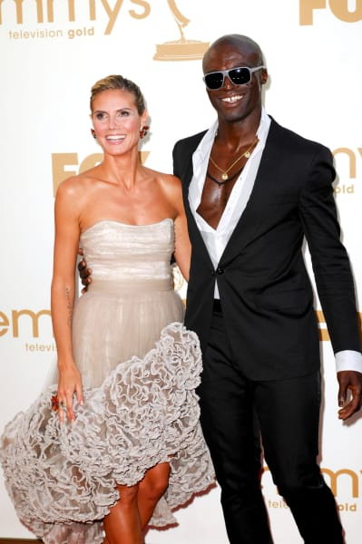Heidi Klum and Seal Photo