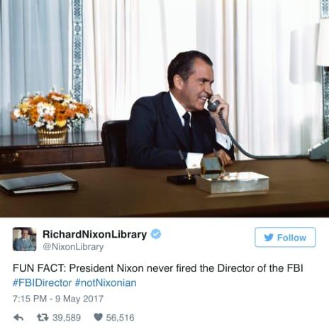 Nixon Library Quote