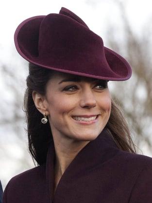 Kate Middleton Christmas Earrings