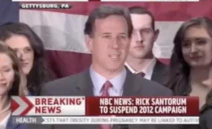 Rick Santorum: OUT of Presidential Race