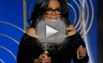 Oprah Winfrey Delivers the Golden Globes Speech Everyone is Talking About