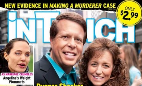 InTouch cover featuring Jim Bob and Michelle Duggar